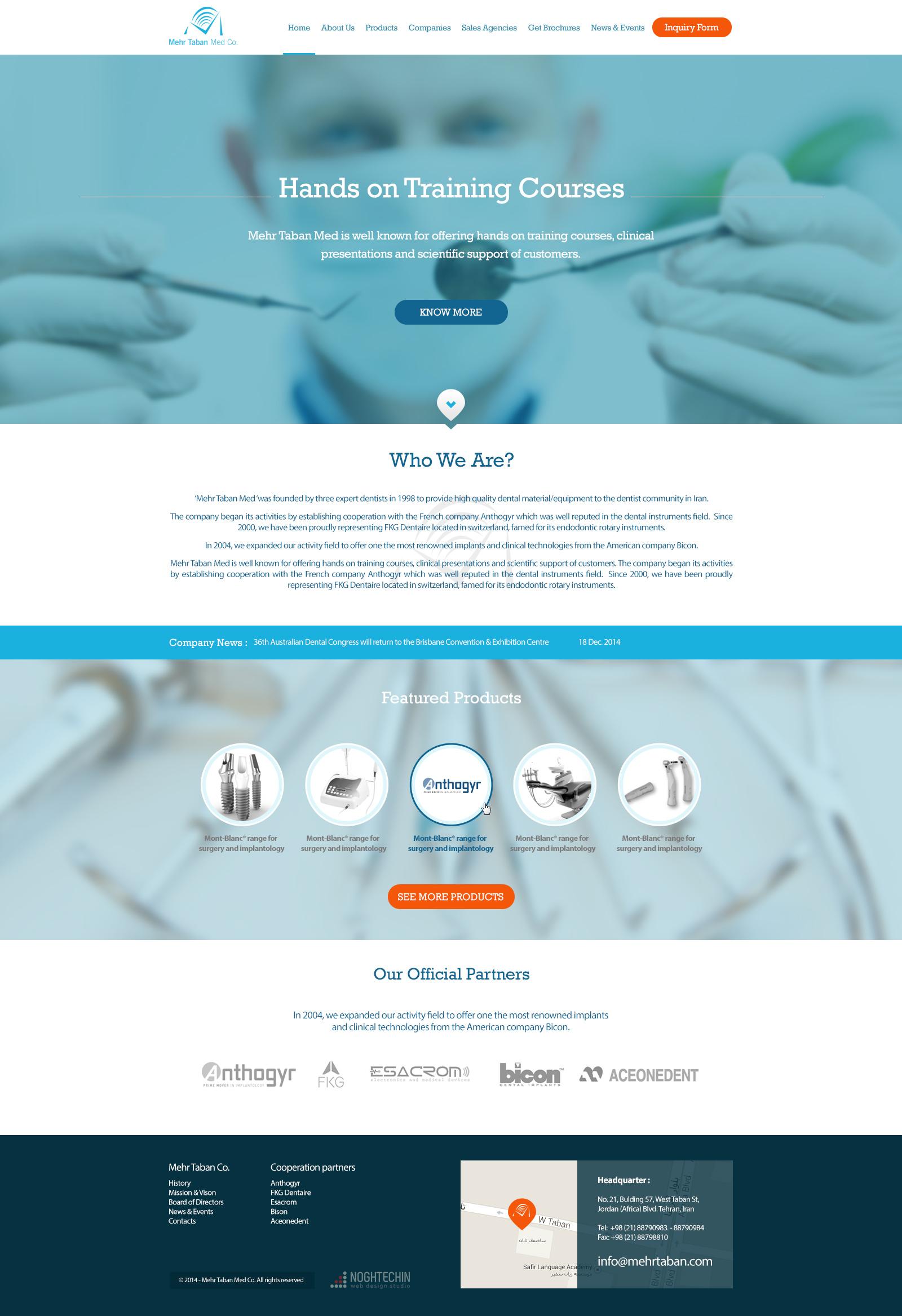 شرکت مهرتابان طب