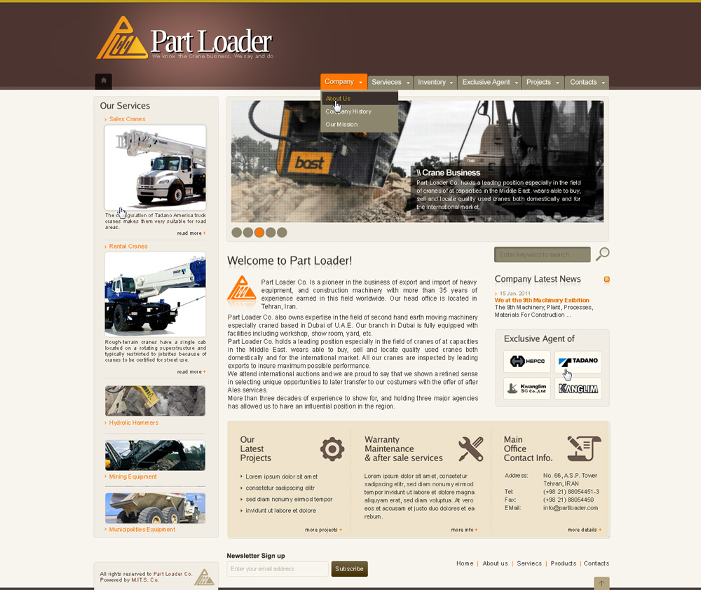 Part Loader Co.