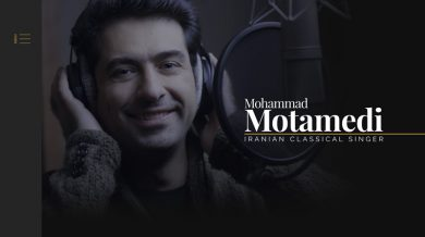 Mohammad Motamedi, Vocalist (New Version)